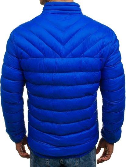 Bolf Herren Winterjacke Sport Jacke Blau JS516