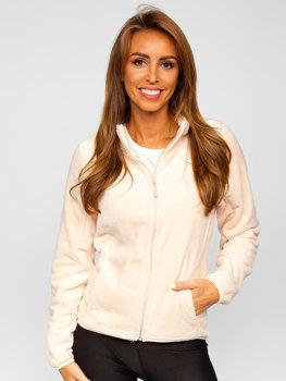 Bolf Damen Fleece Sweatshirt Hellrosa  HH001