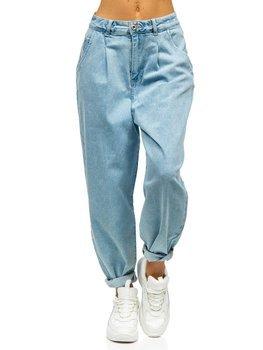 Bolf Damen Jeanshose mom fit Blau  WL1699