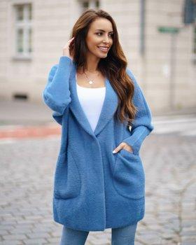Bolf Damen Mantel Blau  7108
