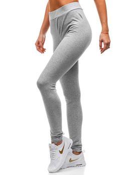 Bolf Damen Sporthose Grau  W9995