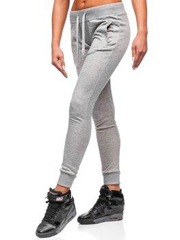 Bolf Damen Sporthose Grau  WB11003-A