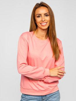 Bolf Damen Sweatshirt Dunkalrosa  WB11002