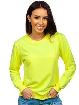 Bolf Damen Sweatshirt Gelb  WB11002