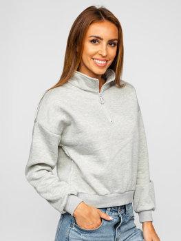 Bolf Damen Sweatshirt Grau  KSW2023