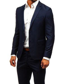 Bolf Herren Anzug Tintenblau  19100