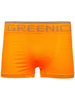 Bolf Herren Boxershorts Orange  PL7723