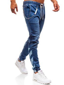 Bolf Herren Jeanshose Baggy Blau  2040