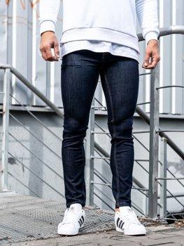 Bolf Herren Jeanshose skinny fit Tintenblau  61827