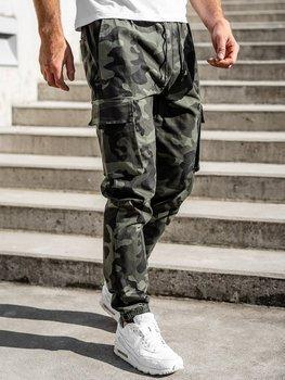 Bolf Herren Jogger Pants Cargohose Grün  702