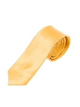 Bolf Herren Krawatte Elegant Gelb  K001