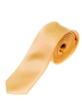 Bolf Herren Krawatte Elegant Orange  K001