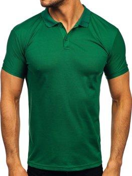 Bolf Herren Poloshirt Grün  GD02
