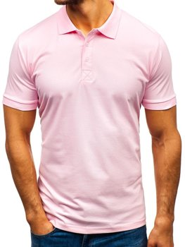 Bolf Herren Poloshirt Rosa  171221
