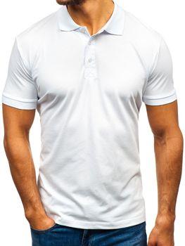 Bolf Herren Poloshirt Weiß  171221