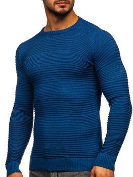 Bolf Herren Pullover Blau  4608
