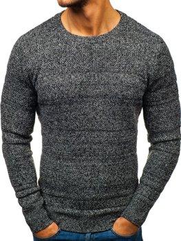 Bolf Herren Pullover Grau  H1805