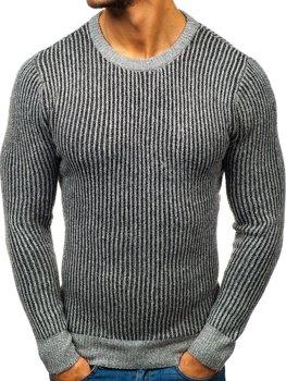 Bolf Herren Pullover Grau  H1818