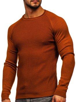 Bolf Herren Pullover Orange  1009