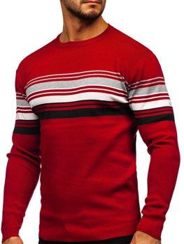 Bolf Herren Pullover Rot  H2061