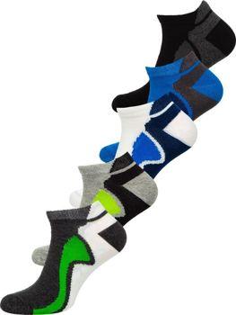 Bolf Herren Socken Mehrfarbig  X10049-5P 5 PACK