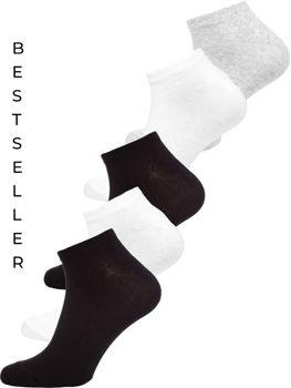 Bolf Herren Socken Mehrfarbig X10161-5P 5er PACK