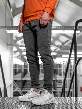 Bolf Herren Sporthose Anthrazit  JX8935