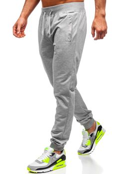 Bolf Herren Sporthose Grau HH01