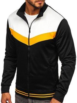 Bolf Herren Sweatshirt mit Reißverschluss Schwarz  8995