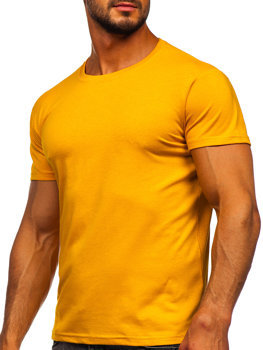 Bolf Herren T-Shirt ohne Motiv Camel  2005