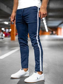 Bolf Herren Textilhose Jogger Pants Dunkelblau  0013