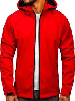 Bolf  Herren Übergangsjacke Softshell Jacke Rot  56008