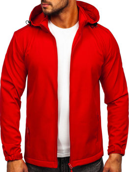 Bolf Herren Übergangsjacke Softshell Jacke Rot  HH017