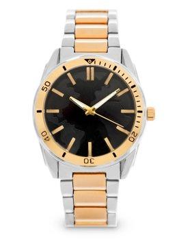 Herren Armbanduhr Golden Stahl  5690-2
