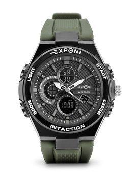 Herren Armbanduhr Grün  3285