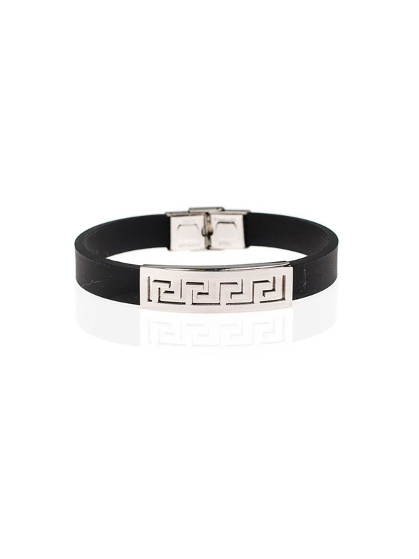 Bolf Herren Armband Schwarz B049