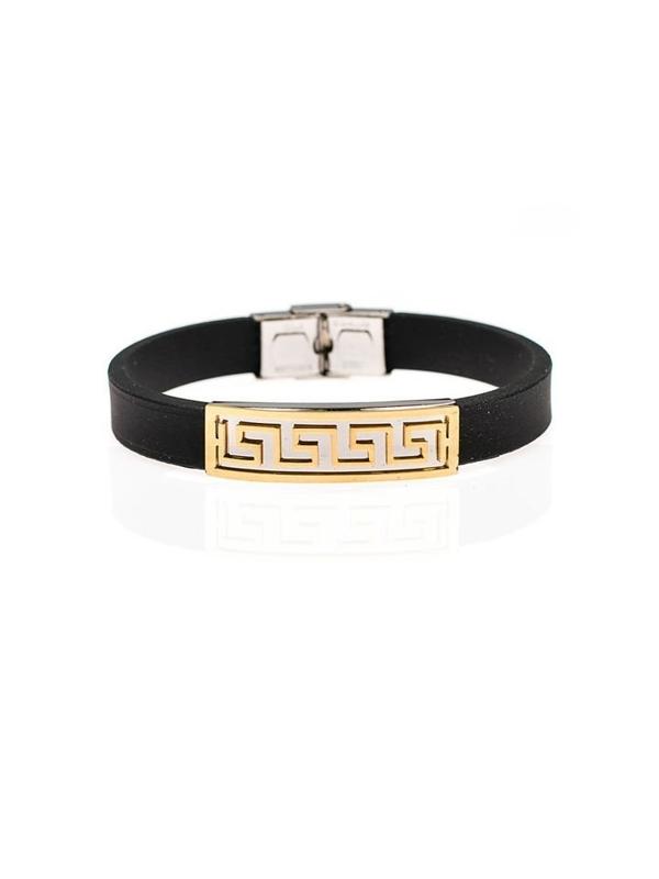 Bolf Herren Armband Schwarz B050