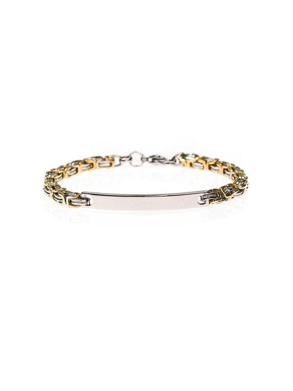 Bolf Herren Armband Silber B088