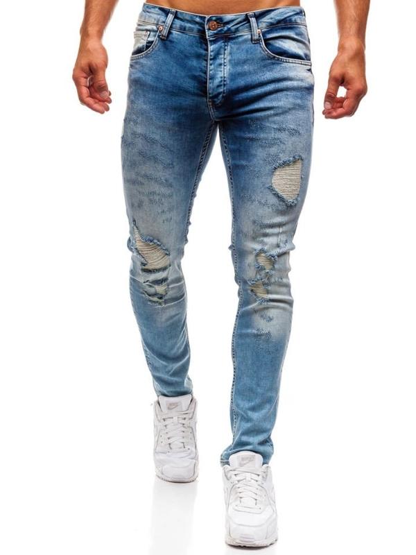 Bolf Herren Jeanshose Blau  1842