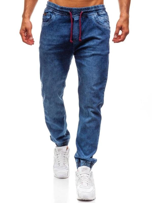 Bolf Herren Jeanshose Jogger Blau  723
