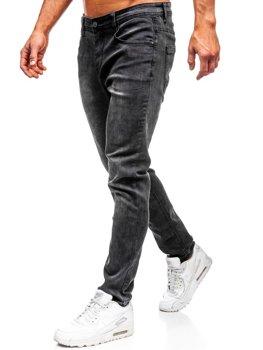 Bolf Herren Jeanshose straight leg Schwarz KX237