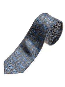 Bolf Herren Krawatte Elegant Schwarzgrau  K105