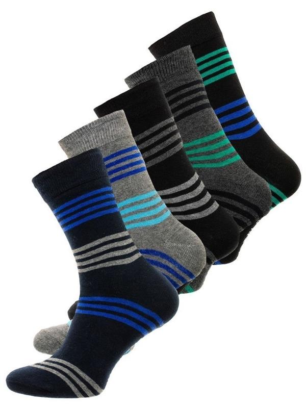Bolf Herren Socken Mehrfarbig  X10027-5P 5 PACK