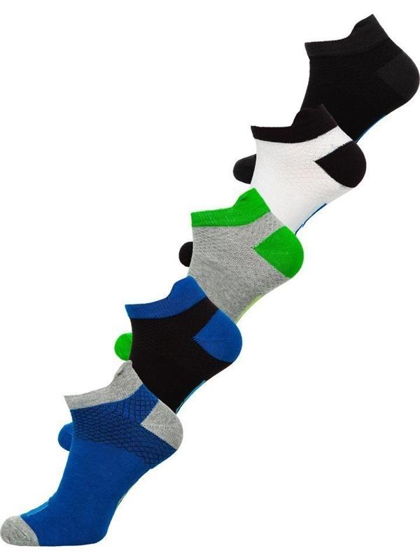 Bolf Herren Socken Mehrfarbig  X10052-5P 5 PACK