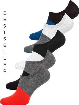 Bolf Herren Socken Mehrfarbig  X10168-5P 5 PACK