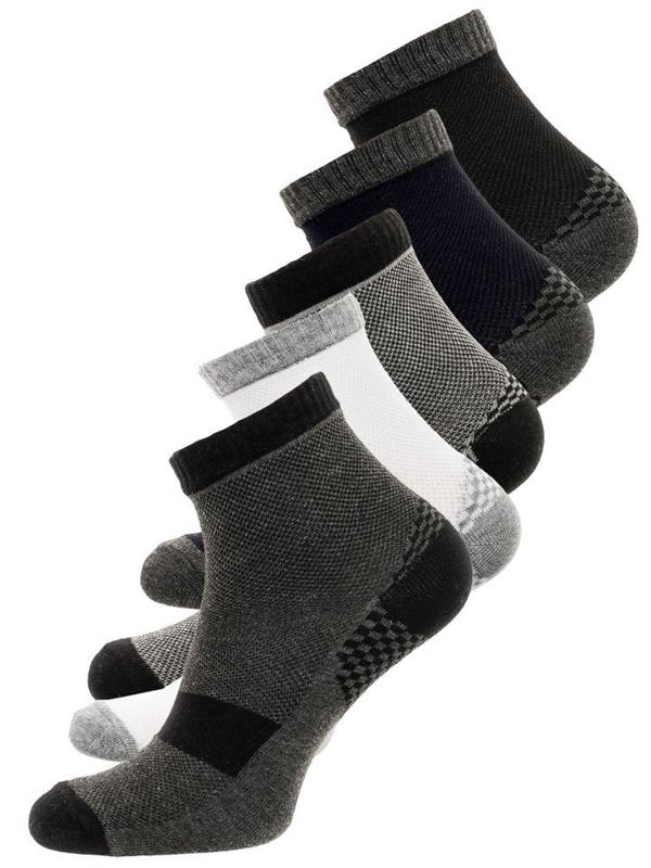 Bolf Herren Socken Mehrfarbig  X110029-5P 5 PACK