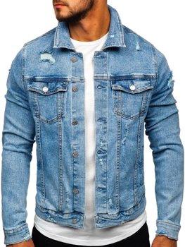 Bolf Herren T-Shirt mit Motiv Blau  AK581