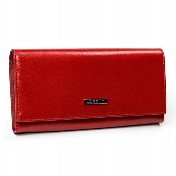 Damen Ledergeldbörse Rot 2902