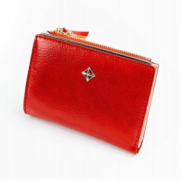 Damen Ökoledergeldbörse Rot 1031