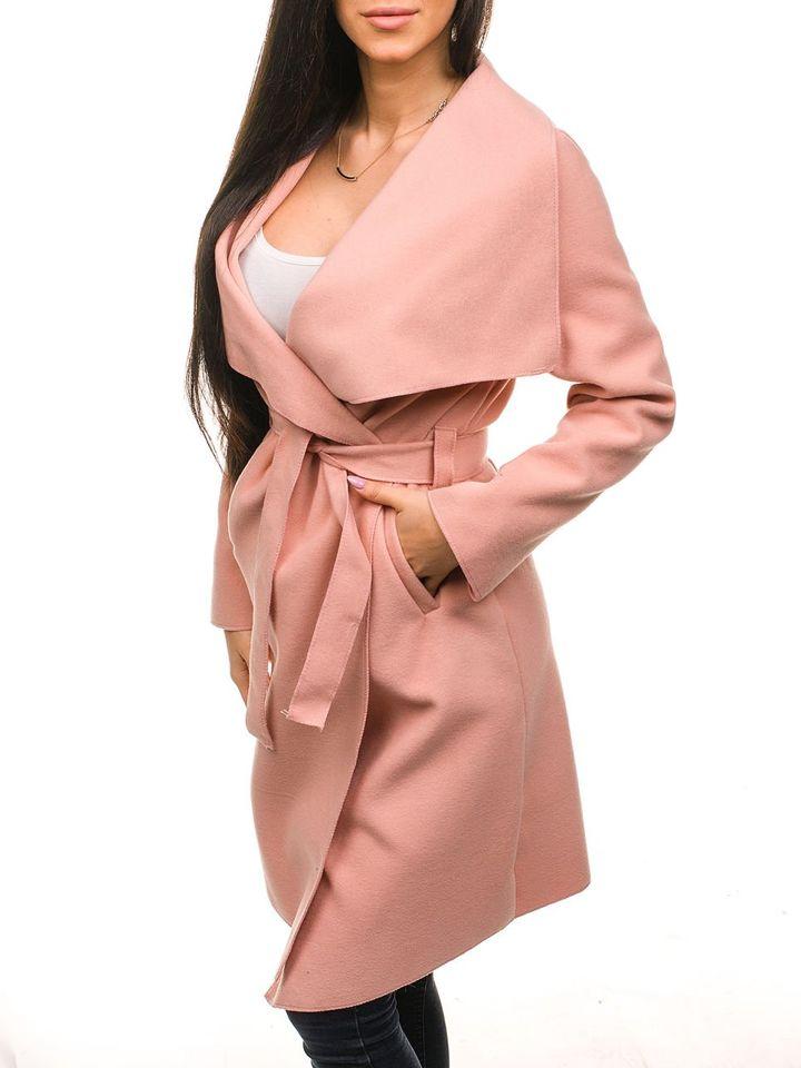 bolf damen mantel lang rosa 1729. Black Bedroom Furniture Sets. Home Design Ideas
